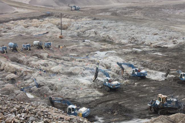 Conventional Open Pit Mining versus Concurrent Open Pit Mining